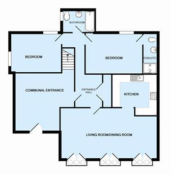 10-Floorplan. Exeter Self Catering