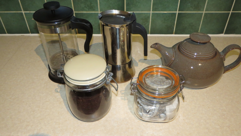 09-Complimentary Tea & Coffee. Exeter Self Catering