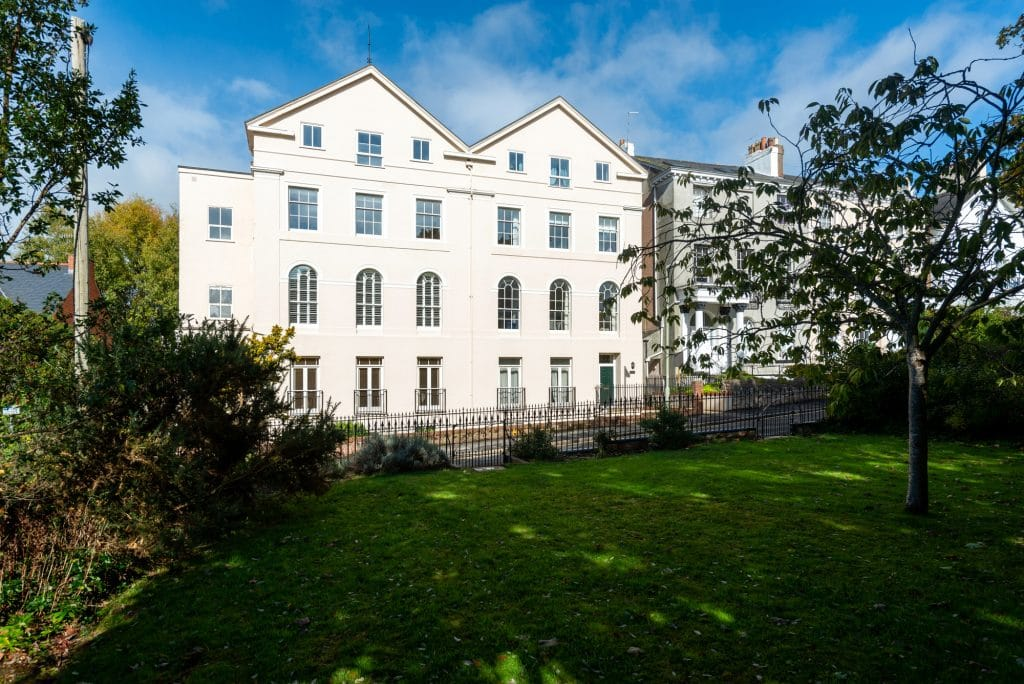Facade - Exeter Serviced Apartments for business travellers.